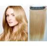 Clip in pás z japonského kanekalonu 63cm rovný – přírodní blond