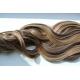 Clip in pás z japonského kanekalonu 63cm vlnitý – tmavý melír
