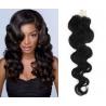 Vlnité vlasy Micro Ring / Easy Loop / Easy Ring / Micro Loop 50cm – černé
