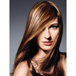 Clip in pramínek – REMY 100% lidské vlasy – světle hnědá
